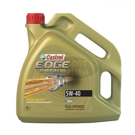 Castrol EDGE Turbo Diesel 5W-40, 4l