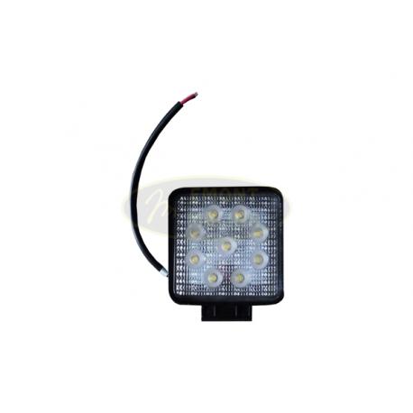 Pracovní světlo LED 2200lm, 9xLED 115x115, hliník 27W, UEU3010 / L0077