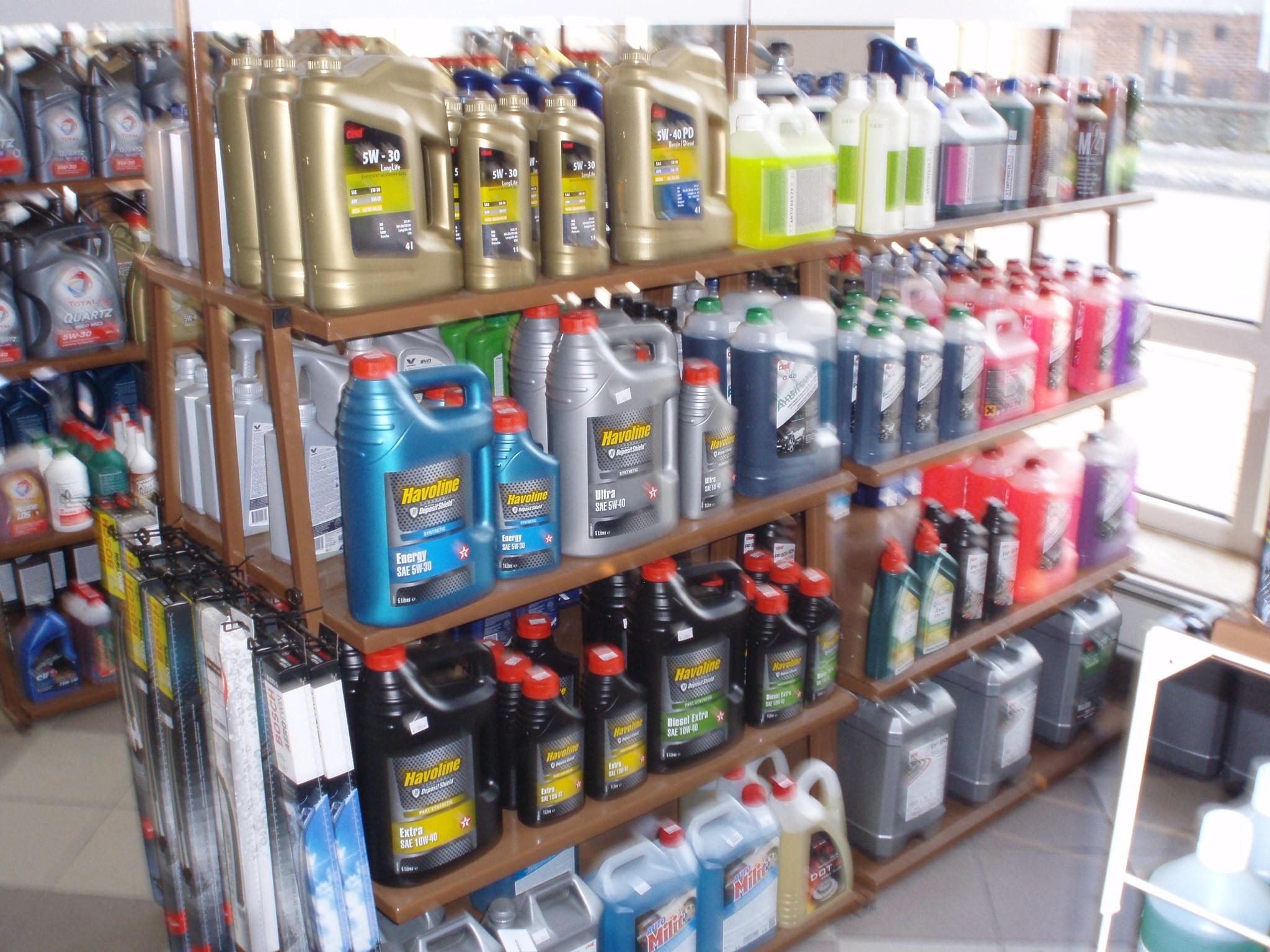 Naše nabídka olejů a ostatních náplní